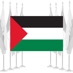 Palestine Ceremonial Flags