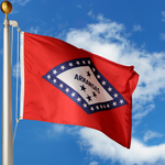 Arkansas Polyester Outdoor Flags