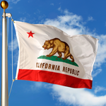 California Polyester Outdoor Flags