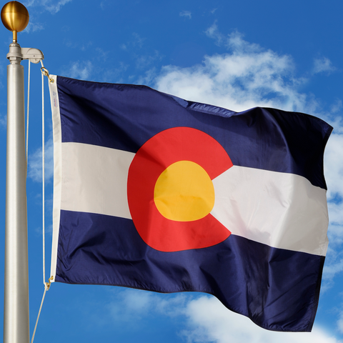 Colorado Polyester Outdoor Flags