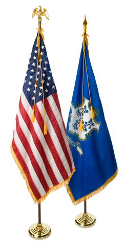 Connecticut and U.S. Ceremonial Pairs