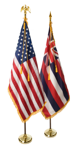 Hawaii and U.S. Ceremonial Pairs