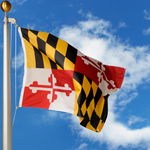Maryland Polyester Outdoor Flags