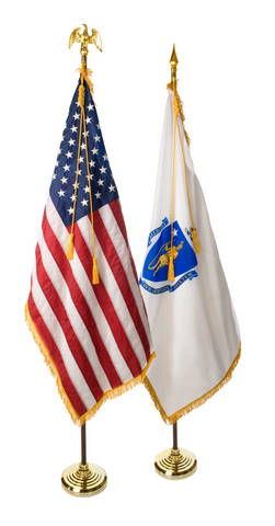 Massachusetts and U.S. Ceremonial Pairs