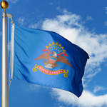 North Dakota Polyester Outdoor Flags