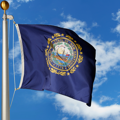 New Hampshire Polyester Outdoor Flags