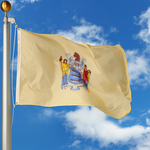 New Jersey Polyester Outdoor Flags
