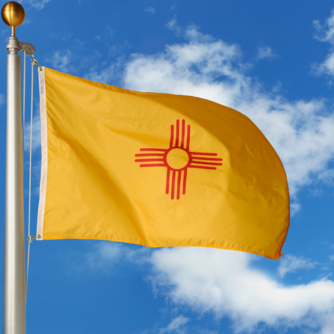 New Mexico Polyester Outdoor Flags