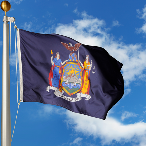 New York Polyester Outdoor Flags