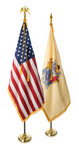 New Jersey and U.S. Ceremonial Pairs