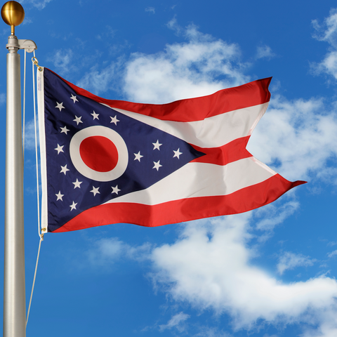 Ohio Polyester Outdoor Flags