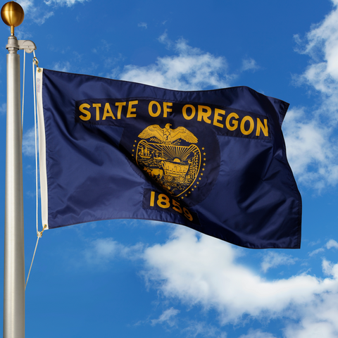 Oregon Polyester Outdoor Flags