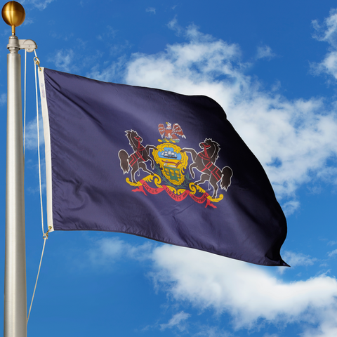 Pennsylvania Polyester Outdoor Flags