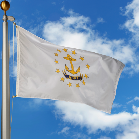 Rhode Island Polyester Outdoor Flags