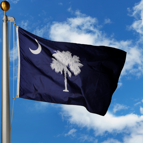 South Carolina Polyester Outdoor Flags
