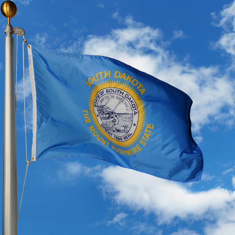 South Dakota Polyester Outdoor Flags