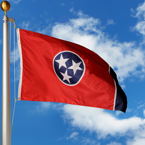 Tennessee Polyester Outdoor Flags