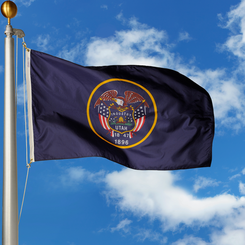 Utah Polyester Outdoor Flags