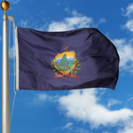 Vermont Polyester Outdoor Flags