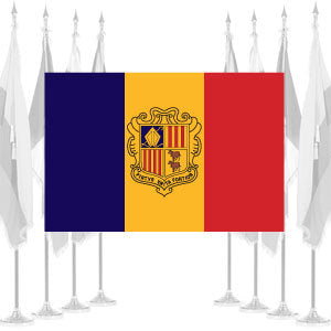 Andorra Government Ceremonial Flags