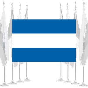 El Salvador Civil Ceremonial Flags