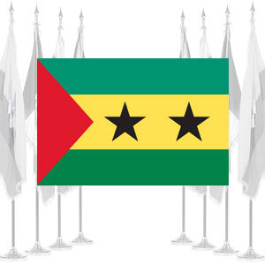 Sao Tome and Principe Ceremonial Flags