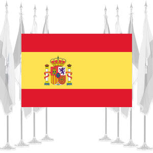 Spain Government Ceremonial Flags
