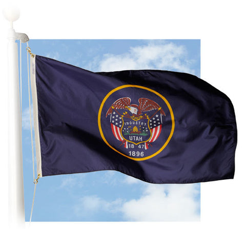 Utah Outdoor Flags