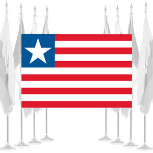 Liberia Ceremonial Flags