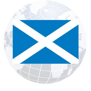 St. Andrews Cross Outdoor Flags