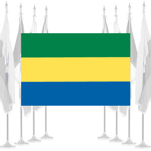 Gabon Ceremonial Flags