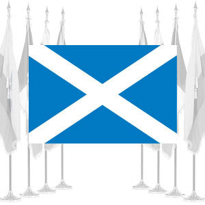 St. Andrews Cross Ceremonial Flags
