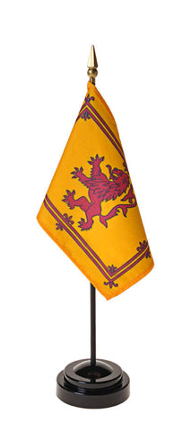 Scottish Rampant Lion Small Flags