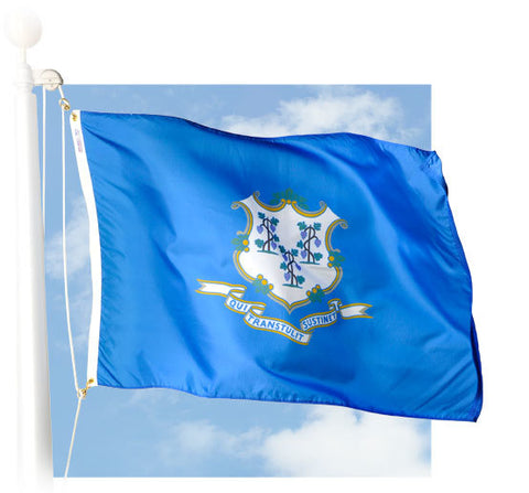 Connecticut Outdoor Flags