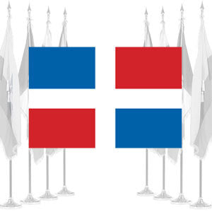 Dominican Republic Civil Ceremonial Flags