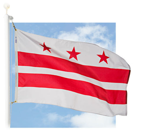 District of Columbia Outdoor Flags