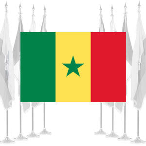 Senegal Ceremonial Flags