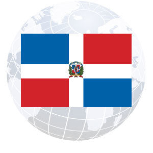 Dominican Republic Government Outdoor Flags