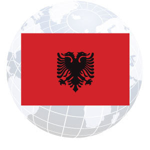Albania Outdoor Flags