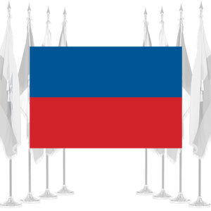 Haiti Civil Ceremonial Flags
