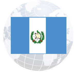 Guatemala Government Outdoor Flags