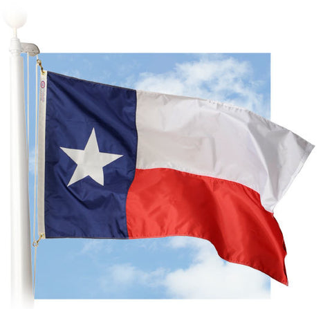 Texas Outdoor Flags