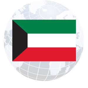 Kuwait Outdoor Flags