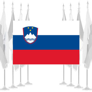 Slovenia Ceremonial Flags