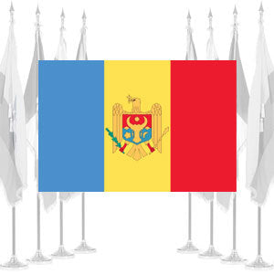Moldova Ceremonial Flags