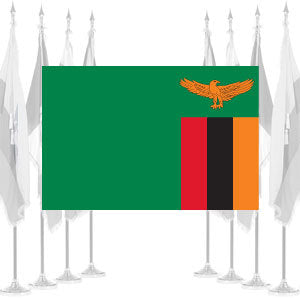Zambia Ceremonial Flags