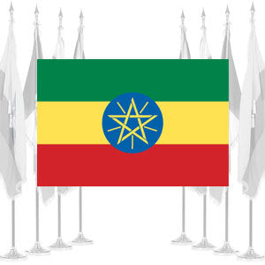 Ethiopia Ceremonial Flags