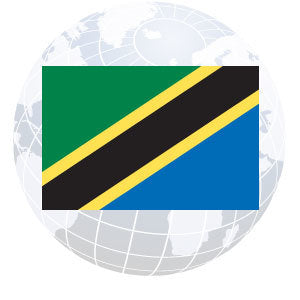 Tanzania Outdoor Flags