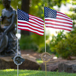 Grave Markers - Flag Holders, World War II
