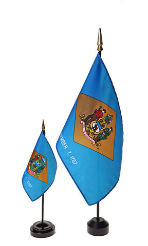 Delaware Small Flags